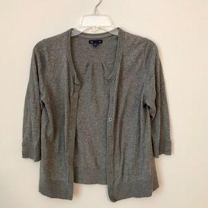 Gap 3/4 sleeve cardigan